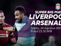 Live streaming liga inggris Liverpool vs Arsenal