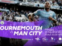 Live Streaming Liga Inggris Bournemouth vs Manchester City