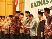 Pj Wali Kota Makassar Raih Baznas Award 2019