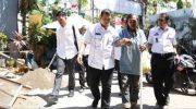 Seorang gelandangan dan pengemis di jalan Khairil Anwar terjaring razia yang diikuti langsung oleh Pj Wali Kota Makassar, Iqbal Suhaeb