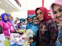 Festival Pangan Lokal Beragam, Bergizi Seimbang dan Aman (B2SA), di Baruga Karaeng Pattingalloang, Rabu (28/8).