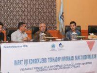 Rapat uji konsekuensi informasi yang dikecualikan bagi PPID