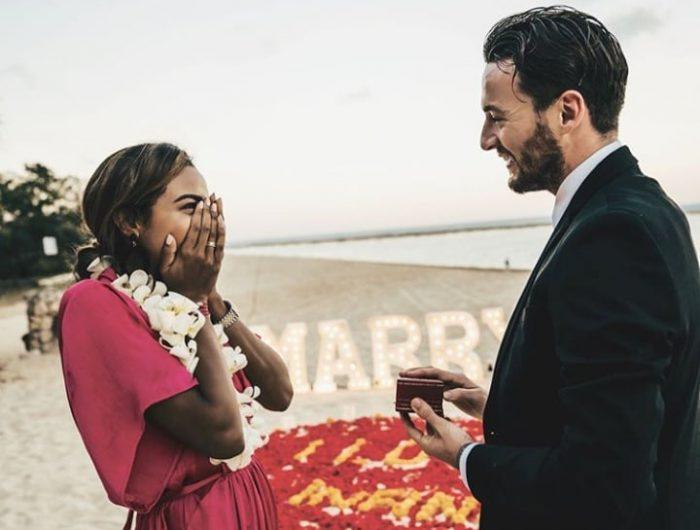Marc Klok Tunangan dengan Kekasihnya