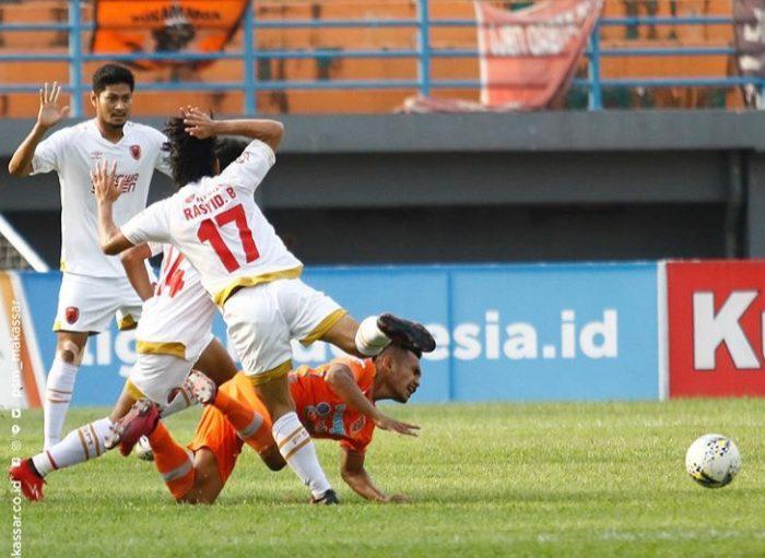 Borneo FC saat menjamu PSM Makassar. (Foto: Instagram PSM)