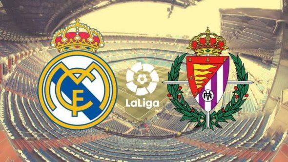 Live streaming la liga Real Madrid vs Valladolid