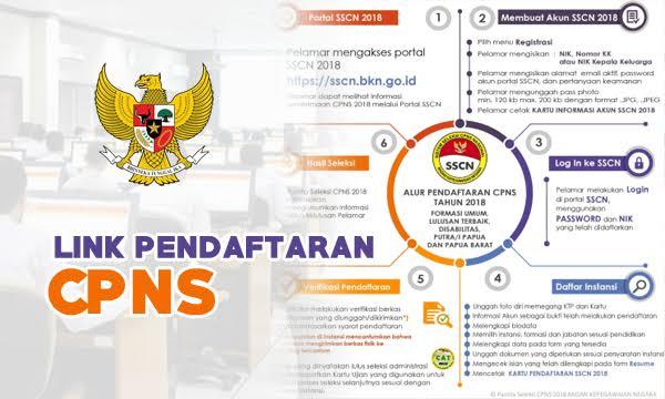 Pendaftaran CPNS 2019. (Ist)