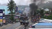 Suasana Mencekam di Papua Barat Usai Pembakaran Gedung DPRD Manokwari