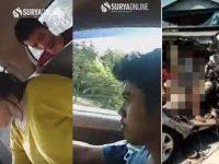 Korban Selamat Kecelakaan Maut yang Viral Langsung Ditangkap Polisi