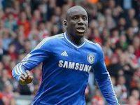 Demba Ba saat masih bermain di Chelsea. (c) AFP