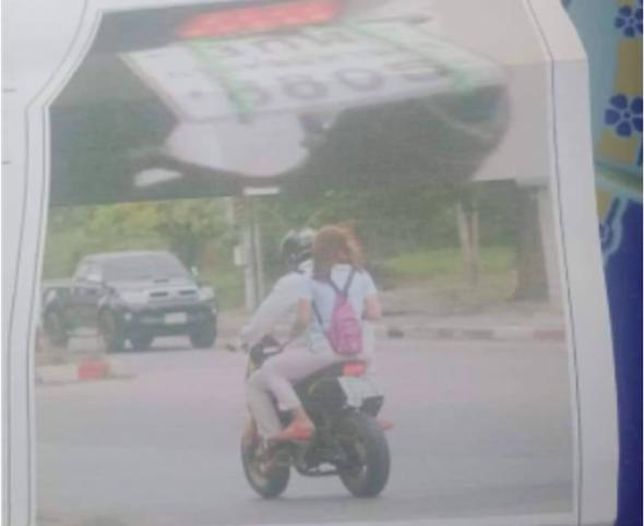 Gara-gara Bukti Surat Tilang Elektronik, Suami Ketahuan Istri Bonceng Wanita Lain/ Foto: Pool (Siam Variety)