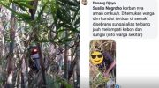 Orderan Mistis, Driver Ojol Tidur di Semak-semak, Motornya Nyangkut di Pohon Bambu