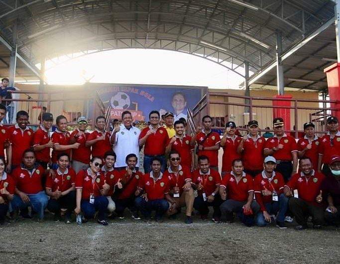Suardi Saleh Buka Turnamen Sepak Bola Bupati Cup 2019