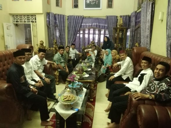 Jamaluddin M Syamsir (JMS), mendampingi Imam Masjid Islamic Center of New York, Ustad Shamsi Ali yang melakukan Tablig Akbar di Kabupaten Bulukumba.