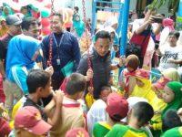 Bupati Bantaeng, DR Ilham Azikin meresmikan taman bermain ABG Cerdas di Kampung Toa