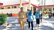 Ketua TP PKK Sulsel Sidak Langsung Empat Sekolah di Makassar
