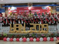 Peringatan Hari Anak Nasional (HAN) 2019 Tingkat Kabupaten Bulukumba yang berlangsung meriah di Ruang Pola Kantor Bupati Bulukumba