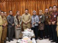 Manajemen Bank Tabungan Negara (BTN) Cabang Makassar bertandang ke Pj Wali Kota Makassar Iqbal Suhaeb
