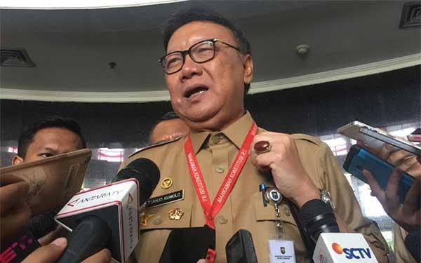 Menteri Dalam Negeri, Tjahjo Kumolo