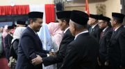 Anggota DPRD Kota Makassar periode 2019-2024 dilantik dalam sidang paripurna istimewa DPRD Kota Makassar di Gedung DPRD Kota Makassar