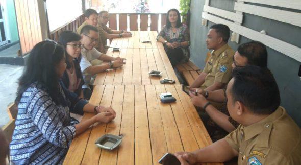 Bupati Bantaeng, H. Ilham Azikin menerima kunjungan Jajaran Direksi Putera Sampoerna Foundation