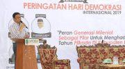 Bupati Barru Hadiri Seminar Hari Demokrasi Internasional Gappembar