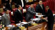 DPR RI mengesahkan Revisi UU nomor 30 tahun 2002 tentang Komisi Pemberantasan Tindak Pidana Korupsi menjadi Undang-Undang.