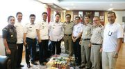 Bupati Barru Hadiri Rapat Pembangunan Kereta Api Rute Makassar - Parepare. (Ist)