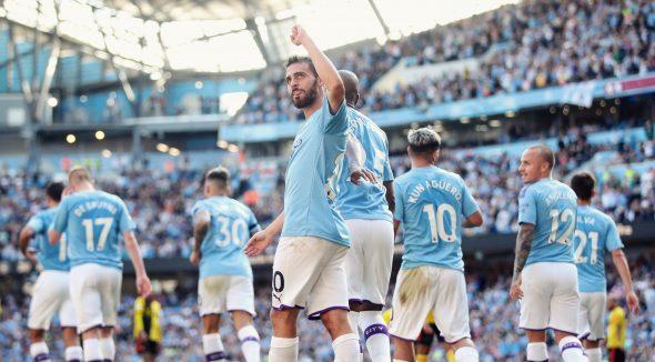 Manchester City Pesta 8 Gol atas Watford, Bernardo Silva Hattrick