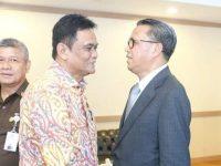 Bupati Barru Hadiri Rakor Pembebasan Lahan Jalur Kereta Api Makassar-Parepare. (Ist)