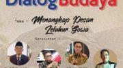 """Dialog Budaya oleh Yayasan Budaya Bugis-Makassar dengan tema """"Menangkap Pesan Leluhur Gowa""""."""
