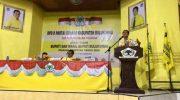 Arum Spink, secara resmi mendaftarkan diri di Partai Golkar