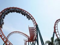 Ilustrasi Roller Coaster