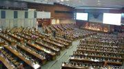Rapat Paripurna DPR pengesahan revisi UU KPK. (Detikcom)