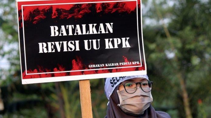 Ilustrasi: Demo Tolak Revisi UU KPK