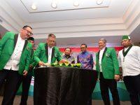 Rapat Koordinasi Wilayah II Majelis Wilayah Korps Alumni Himpunan Mahasiswa Islam (MW KAHMI) di Hotel Santika, Sabtu (5/10).