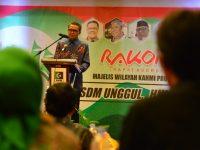 Rapat Koordinasi Wilayah II Majelis Wilayah Korps Alumni Himpunan Mahasiswa Islam (MW KAHMI) di Hotel Santika, Sabtu (5/10). (Ist)