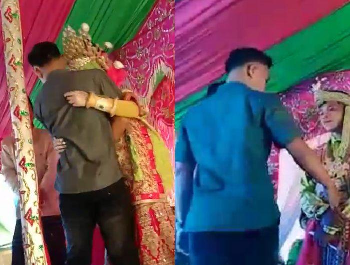 Video Viral Hadiri Pernikahan Sang Mantan, Pria Ini Malah Dihajar Orangtua Wali Pengantin.