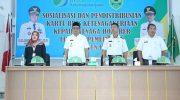 Sosialisasi dan Pendistribusian Kartu BPJS Ketenagakerjaan kepada Tenaga Honorer.
