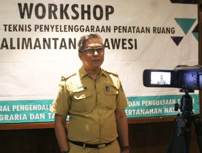 Pj Sekretaris Daerah Kabupaten Barru Dr. Ir. Abustan.
