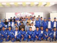 Wakil Bupati Barru Lepas Kontingen Kejurda Pelajar Barru Tingkat Sulsel 2019