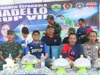 Bupati Barru Buka Turnamen Sepak Bola Madello Cup VII 2019
