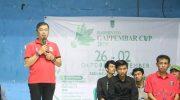 Pj Sekda Barru Resmi Buka Badminton Gappembar Cup