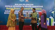 pelepasan Kepala Kejaksaan Negeri Makassar, Dicky Rachmat Rahardjo, di Hotel Aston, Jumat (11/10/2019).