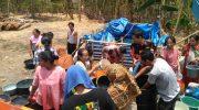 Peringati HUT ke-350 Sulsel, SAPMA PP Gowa Salurkan Air Bersih