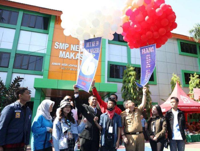 Buka Porseni SMP 6, Pj Wali Kota Makassar Kenang Masa Remaja