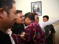 Pj Wali Kota Makassar Jemput Menteri Pertanian SYL di Bandara