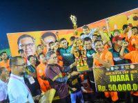 Taufan Pawe Resmi Tutup Wali Kota Cup 2019, Beringin FC Berhasil Jadi Jawara