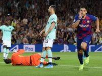 Jamu Inter Milan, Suarez Selamatkan Barcelona dari Kekalahan