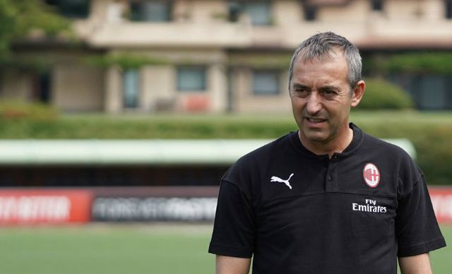 Marco Giampaolo (c) AC Milan