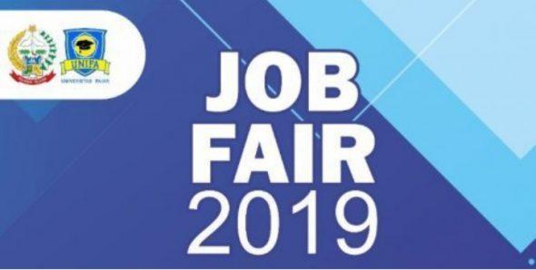 Pemprov Sulsel – Unifa Gelar Job Fair 2019